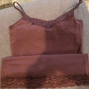 Express cami with bra inside